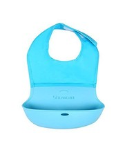 Lovely Water-Repellent Comfortable Baby Bib/Pinafore for Baby,Sky Blue