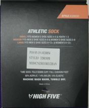 High Five Athletic Soccer Sock 24 Inch Medium 328030 Purple image 4
