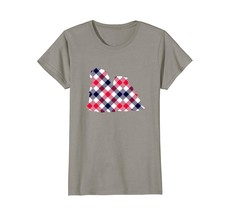 Lhasa Apso Plaid Dog Silhouette T-Shirt v1 - $19.99+