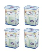 Lock & Lock, Water Tight, Food Container, 7.5-cup, 60-oz, Pack of 4, Hpl813 - $39.59