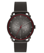 Armani Exchange AX2902 Rocco Watch Black/Red - $221.95