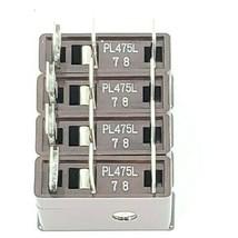 LOT OF 4 NEW DAITO PL475L FUSES 7.5A 125V