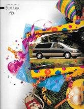 1998 Toyota SIENNA sales brochure catalog US 98 DX LE XLE - $7.00