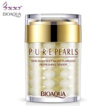 BIOAQUA Pure Pearls New Face Cream Skin Care HA flawless Whitening Moist... - $18.61