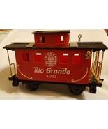 Scientific Toys Red Rio Grande Caboose Train Car G Scale Gauge #4067 pre... - $38.70