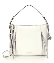 MICHAEL Michael Kors White Leather Corinne Larg... - $228.00