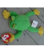 Smoochy The Frog, Ty Teenie Beanie,   VERY GOOD CONDITION - $4.94