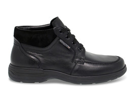 Low boot Mephisto DARWIN N in black leather - Men's Shoes - €188,21 EUR