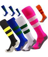 Men's Kids Socks Soccer Baseball Football Basketball Sports Over Knee Hi... - $9.98
