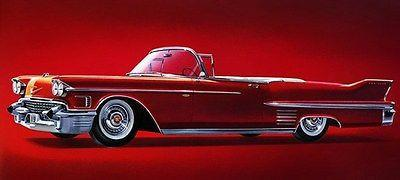Primary image for 1958 Cadillac Series 62 Convertible - Promotional Advertising Poster