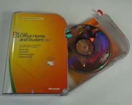 Microsoft Office Home and Student 2007 with Product Key - FREE SHIPPING - $14.84