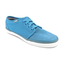 Vans 106 Vulcanized Mlx Light Blue Charcoal Sz 11.5 Mens Shoes Skate SK8 Lxvi - $45.77