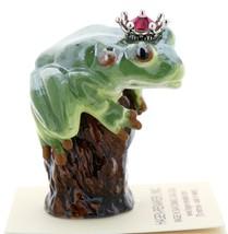 Hagen-Renaker Miniature Tree Frog Figurine Birthstone Prince 01 January Garnet image 2