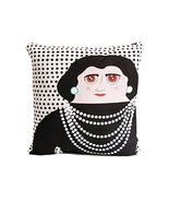 Hand Made Late Greats Pillow Coco Chanel 16x16 - $37.35