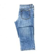 Michael Kors Women's Straight Fit Medium Blue Wash Jean Size 8P 100% Cotton - $20.58