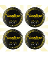 4 Vaseline Lip Therapy Gold Dust Lip Balm LIMITED EDITION .6 OZ - $21.77