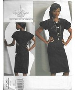 VOGUE AMERICAN DESIGNER PATTERN-Tracy Reese-Misses Top & Skirt-14-20  Ad... - $9.46