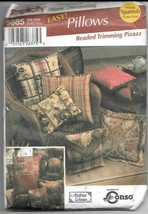 Simplicity #5685 Home Decorating by Andrea Schewe Easy Pillows - UNCUT - $9.90