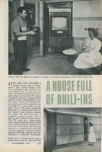 1958 Built-ins in Every Room Glen Cove Long Island NY Home Mid Century M... - $10.00
