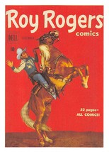1992 Arrowpatch Roy Rogers Comics Trading Card #36 > Trigger > Happy Trail - $0.99