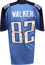 Delanie Walker unsigned Light Blue Custom Stitched Pro Style Football Jersey XL - $24.95