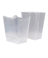 Mike and Ally Wastebasket Trash Bin Liner PVC - £7.27 GBP