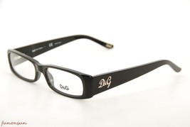 Dolce & Gabbana Women's Eyeglasses D&G 1163 501 Black Plastic Rectangle ... - $105.73