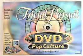 Trivial Pursuit DVD Pop Culture Board Game by Hasboro 2003 - $8.90