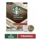 Starbucks TIRAMISU RECYCLABLE K-Cup Pods  Pack of 22 Signature Collectio... - $19.79