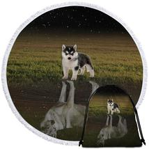 Husky Dogs Beach Towel - $12.32+
