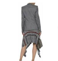 Stella McCartney Womens Size 4 38 Gray One Button Pointed Lapel Blazer L... - $138.60