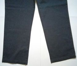 Lee Relaxed Fit at the Waist Womens Size 14 Short Grey Denim Jeans Pants (34x32) image 6