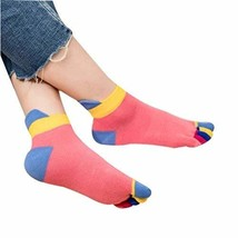 [V] Toe Socks Casual Socks Warm Socks Girl's Lovely Socks Cotton Crew Socks Gift