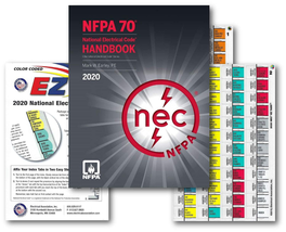National Electrical Code (NEC) Handbook (Hardcover), EZ Tabs (Color Code... - $137.71