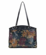 NEW PATRICIA NASH WOMEN'S LEATHER POPPY TOTE SHOULDER BAG PERUVIAN PAINTING - $188.05