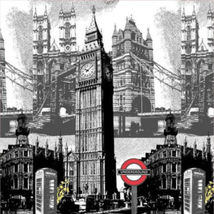 Big Ben London Cool Design 180x180cm Peva Shower Curtain For Bathroom Use - $28.00