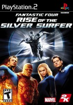 Fantastic 4: Rise of the Silver Surfer - PlayStation 2 [PlayStation2] Ar... - $4.99