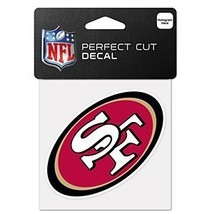 San Francisco 49ers Wincraft 4x4 Die Cut Decal Color [Misc.] - $1.09