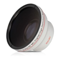 Vivitar 0.43x Wide Angle Lens Attachment for 58mm Filter Thread, Uses 62... - $37.99