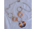 6 rounds cooper and silver necklace thumb155 crop