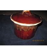 McCoy Pottery Drip Edge Bean Pot w Lid Casserol... - $28.99