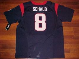 Reebok NFL AFC 2002 Houston Texans Matt Schaub #8 Blue Football Jersey 5... - $71.27