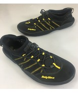 Body Glove Mens 13 Black Yellow Water Shoes Made in USA - $33.81