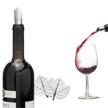 Wine Bar Tools Corks Funky Gifts Fine Vine Poure Aluminum x 2 set Bottle... - $19.00