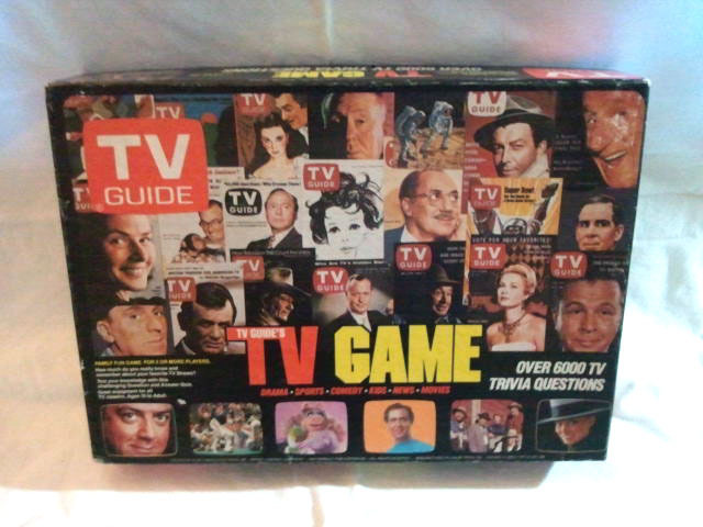 "TV Guide ""TV Guide's TV Game"" 1984 Board Game * Princess Diana Charlie's Angels"