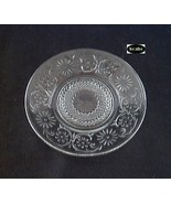 Daisy Crystal Plate 11 1/2 in. Cake Indiana Glass - $8.95