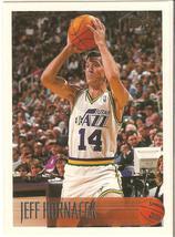 Jeff Hornacek Topps 96-97 #9 Utah Jazz Phoenix ... - $0.20