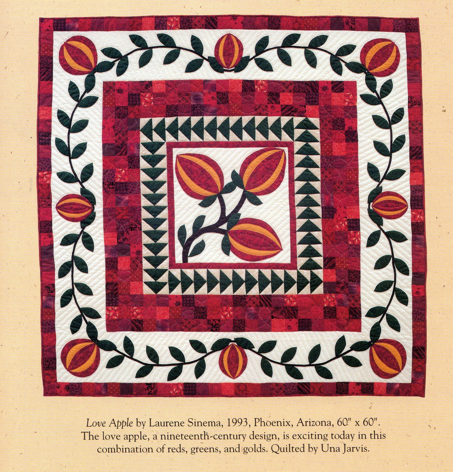 The Quilted Apple By Laurene Sinema Quilt And 30 Similar Items
