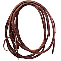 Buckaroo Products Heavy Harness Leather Show Split Reins 5/8 inch x 7.5 ... - $89.99