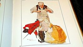 The Best of Norman Rockwell Hard cover Book AA20- CP2172 Vintage image 8